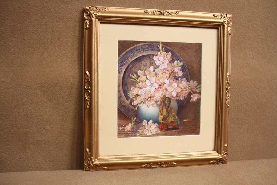 An Early 20th Century Still Life Watercolour