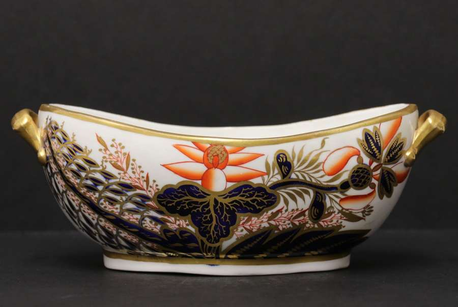 An Early 19th Century English Hand Painted Spode Shallow Dish