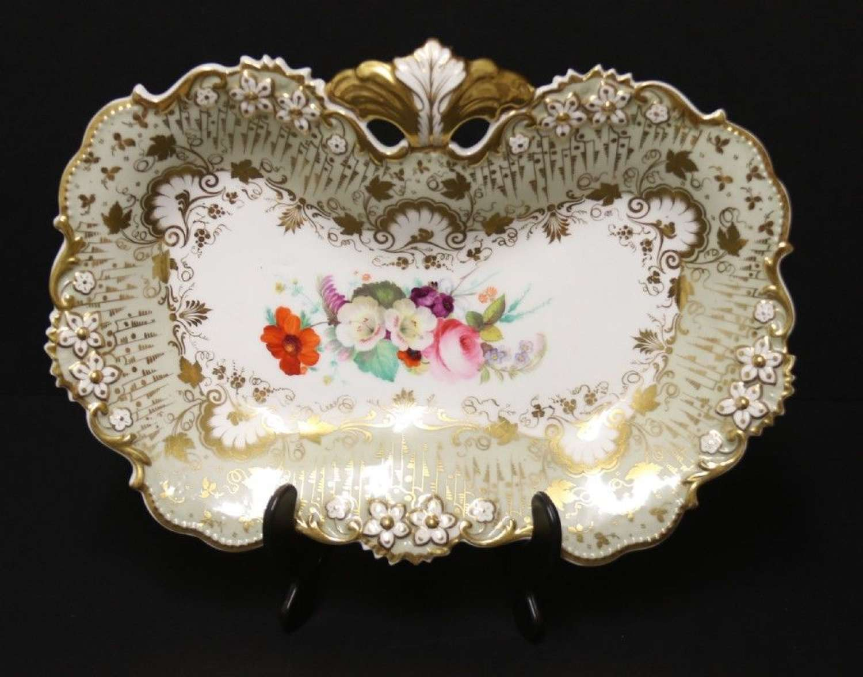 A Fine Early 19th C English Davenport Dish, Circa 1835
