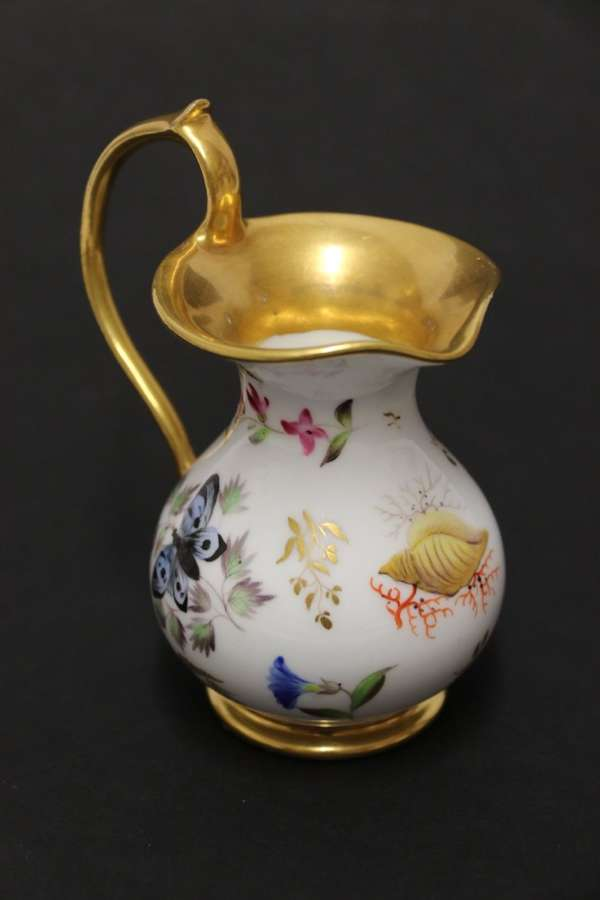 A Fine Quality Early 19th Century French Porcelain Miniature Ewer