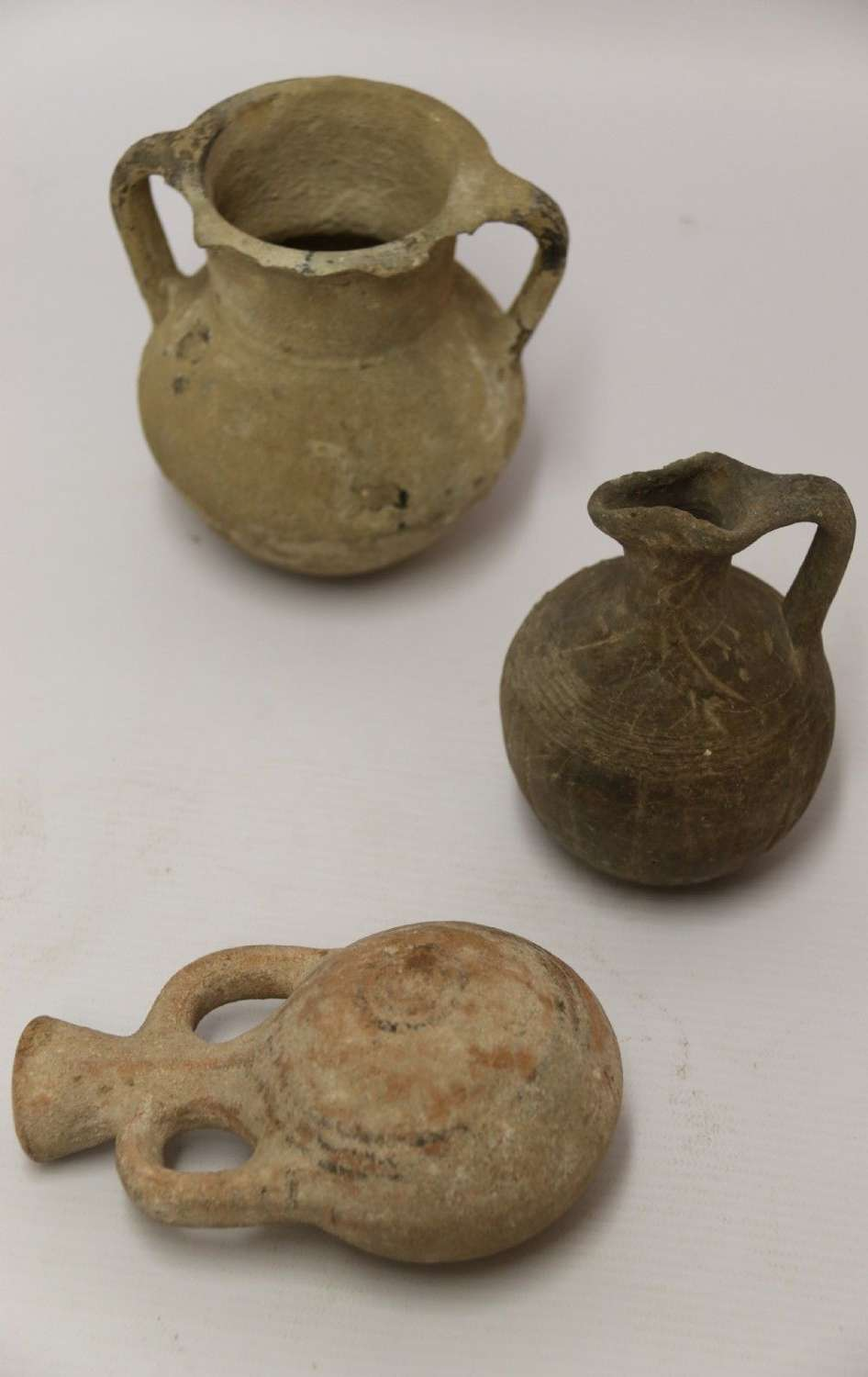 A Collection Of Three Antiquities From Early Greece