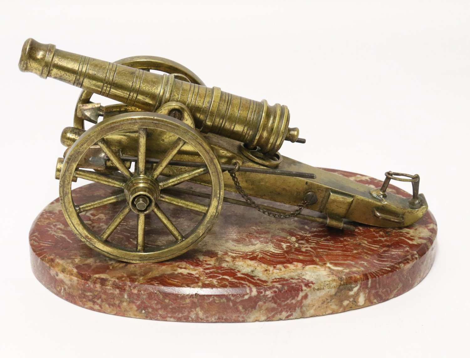 A Superb Mid-19th Century French Bronze Model Canon.