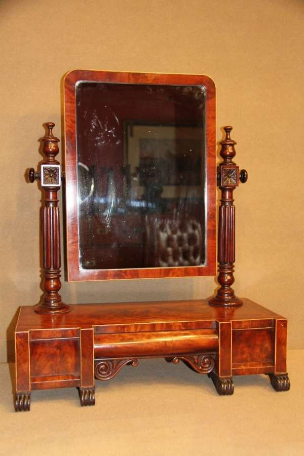 William IIII Dressing Table Mirror