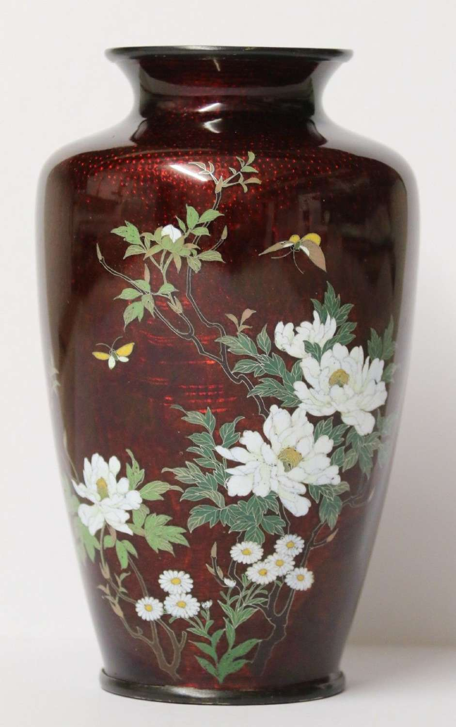 A Fine Japanese Cloisonné Vase By The Ando Company.