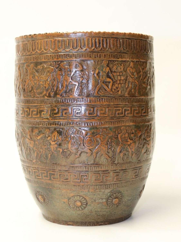 A Stylish 19th Century Greek Terracotta Vase