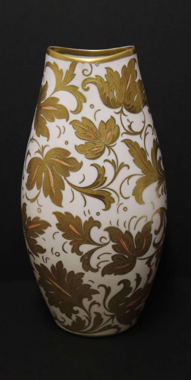A Fine Italian Designer Porcelain Vase By Finzi
