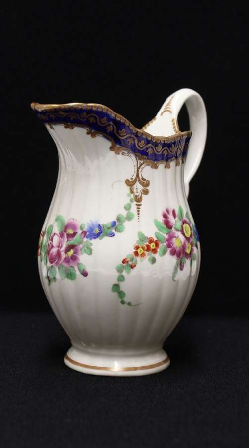 A Dr. Wall First Period Worcester Cream Jug, C 1770