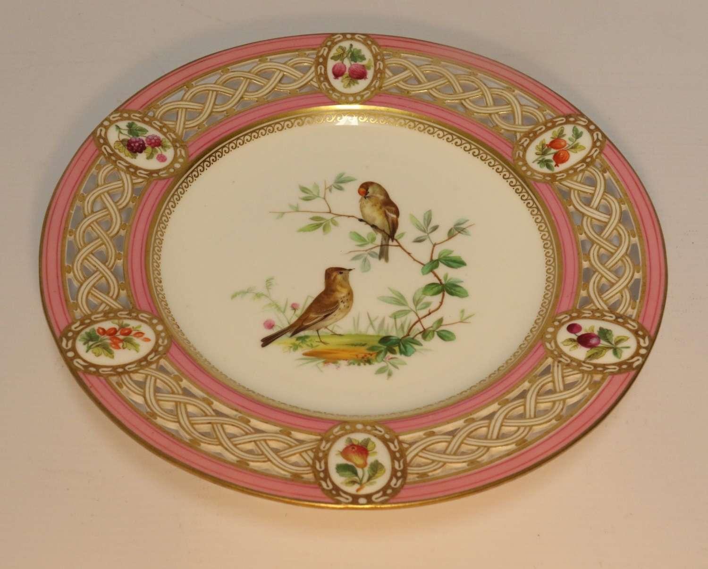 A Superb Minton Cabinet Plate