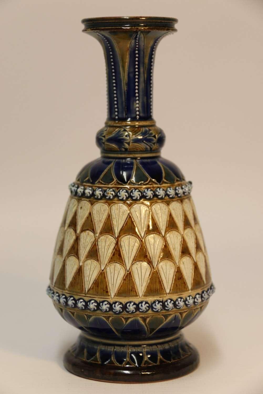 A Fine Doulton Lambeth Vase