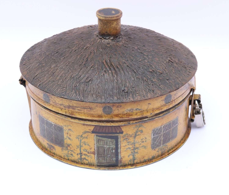 A Rare 19th Century Folk Art Spice Box