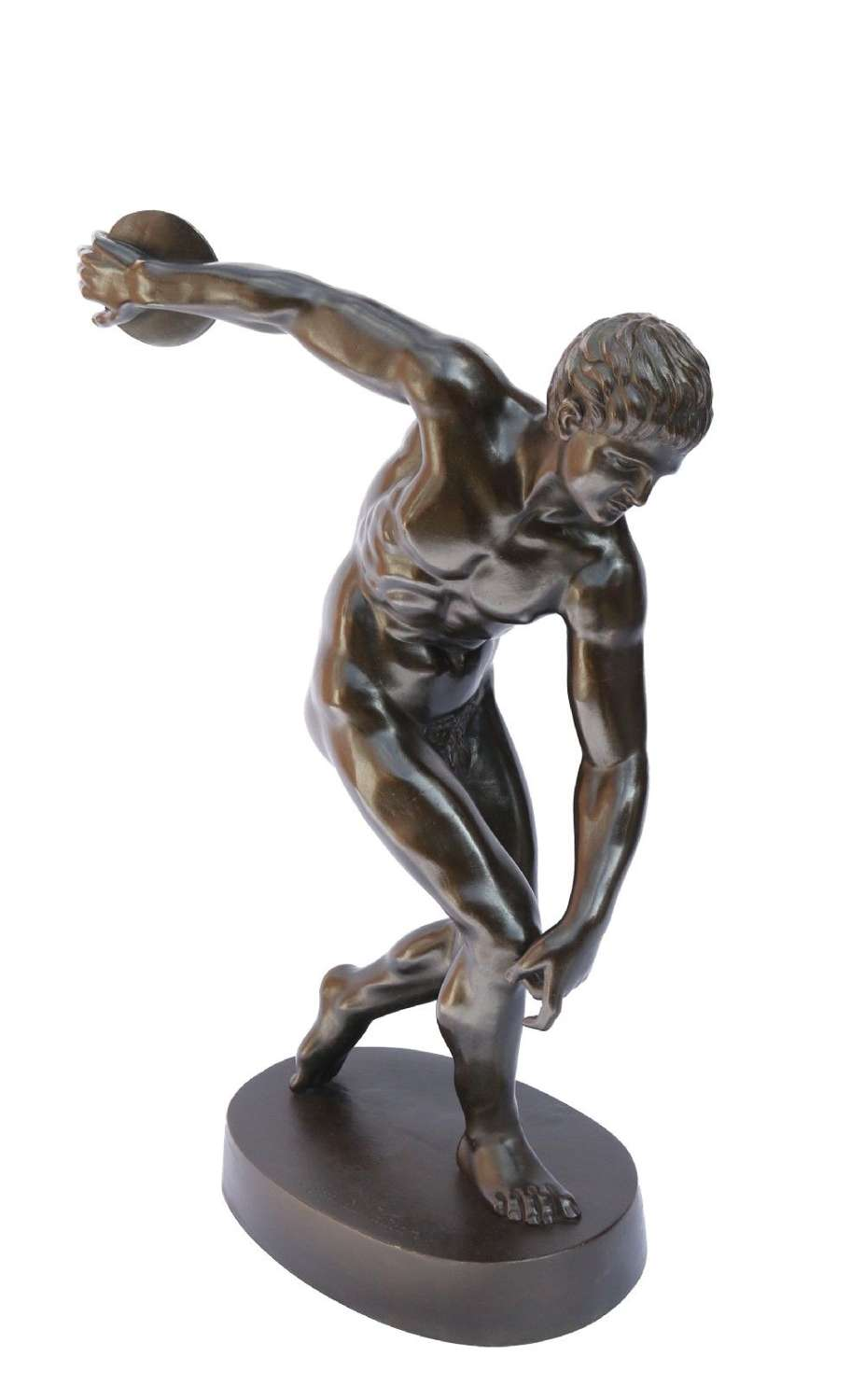 Bronze Figure Of The Discus Thrower