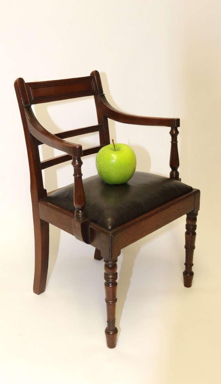A Superb Miniature Regency Chair