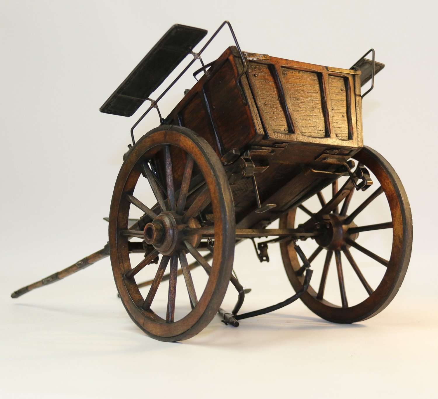 A Fine Model Of A Horse Drawn Carriage