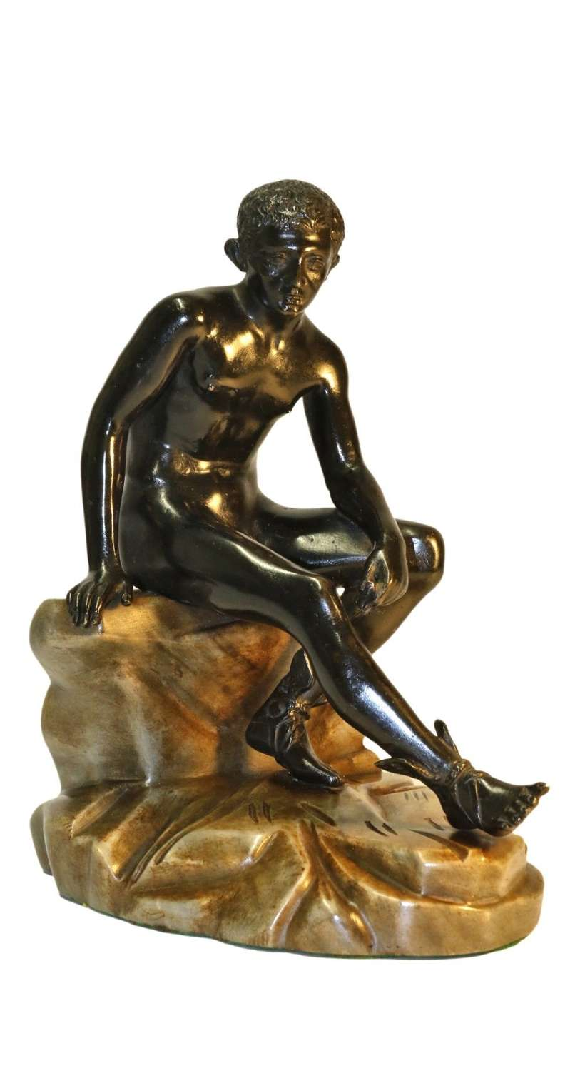 Grand Tour Bronze And Marble