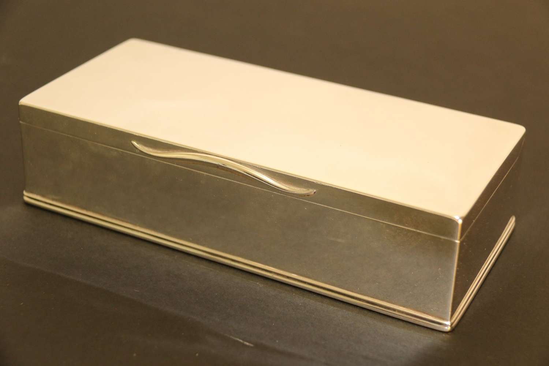 A Superb Victorian Silver Box