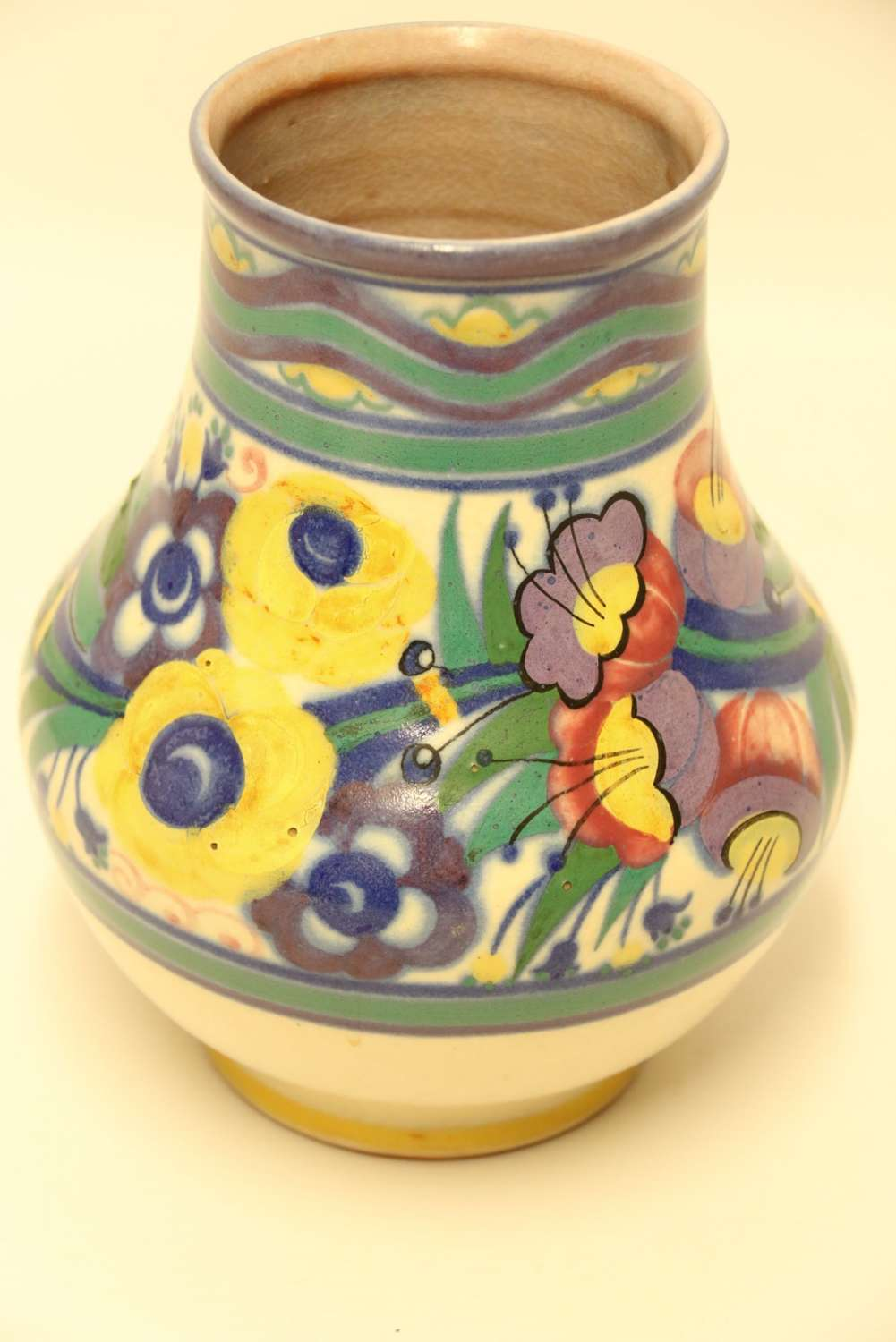 Early Poole Pottery Vase Carter Stabler And Adams