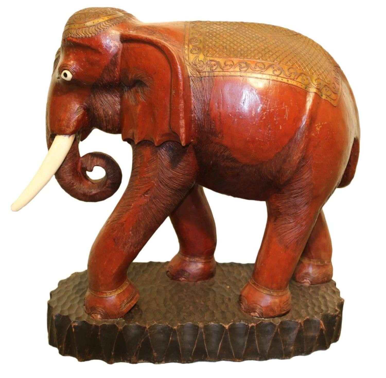 A Huge Indian Elephant