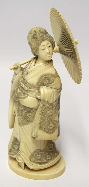 A Superb Japanese IVory Okimono