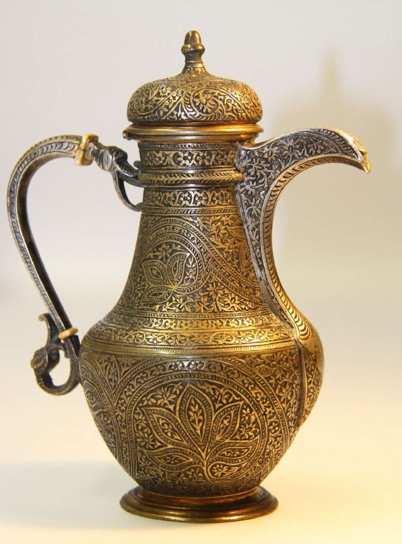 A Fine 19th Century Islamic Ewer