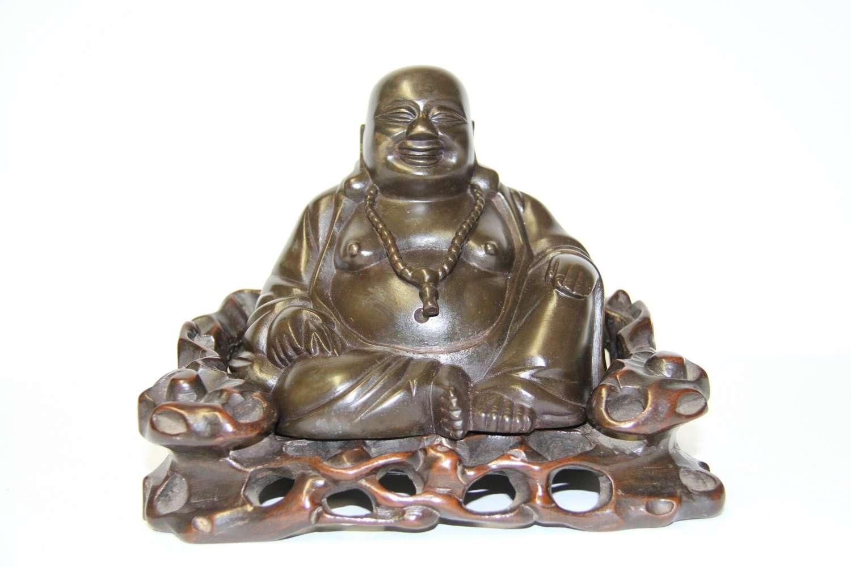 A Chinese Bronze Buddha