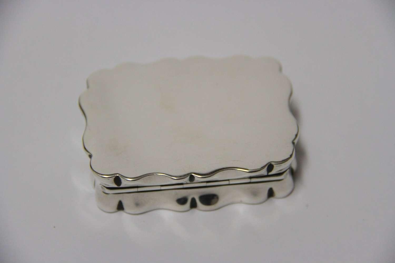 A Silver Snuff Box