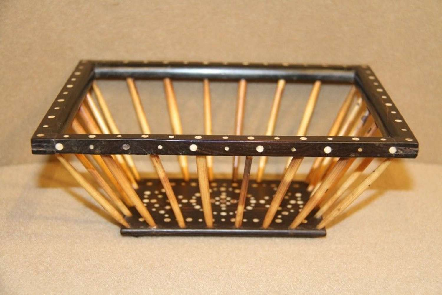 Porcupine Quill Bread Basket