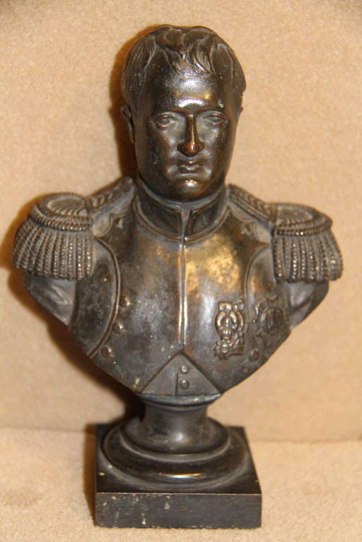 A Bronze Study Of Napoleon