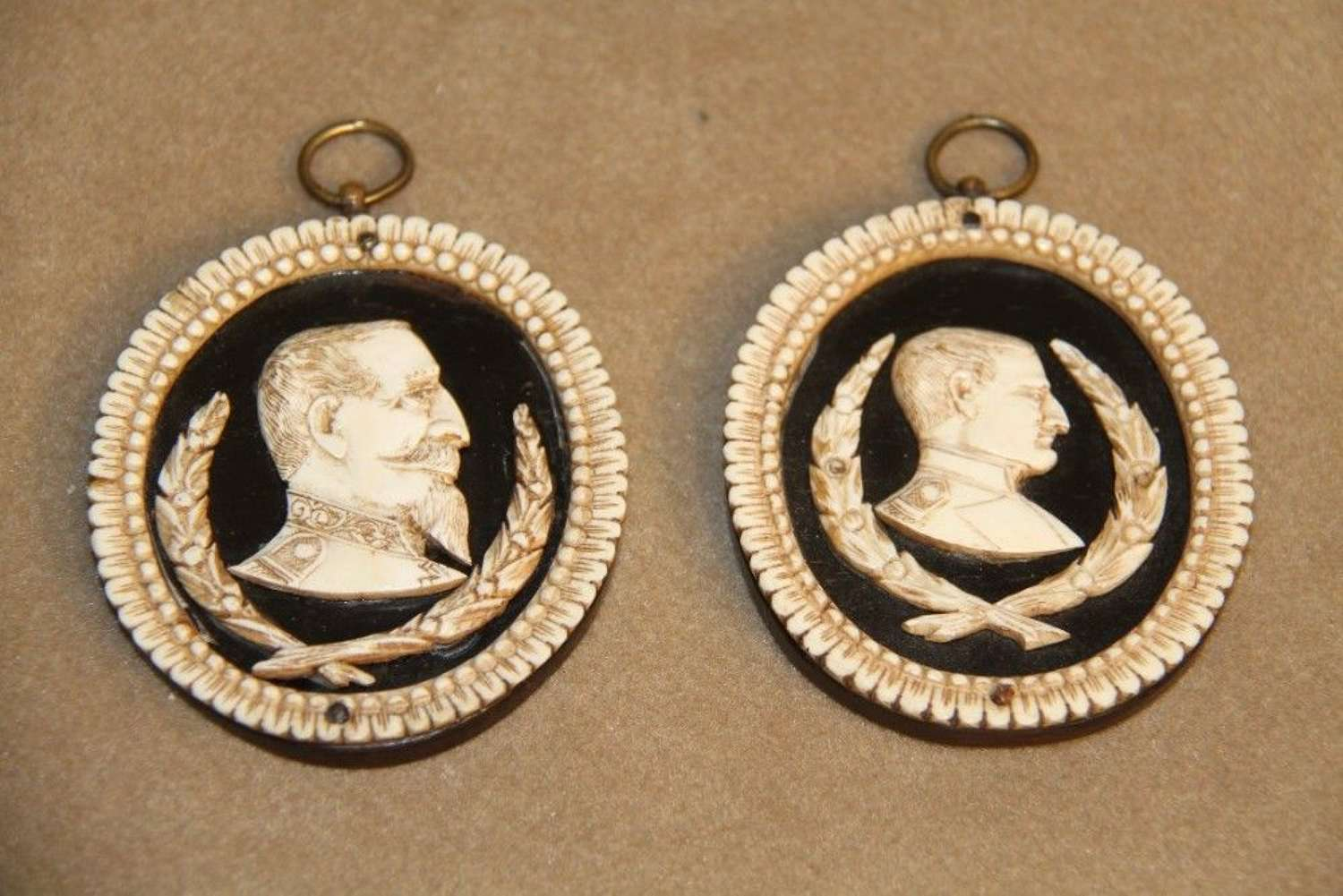 Napoleonic Carved Plaques