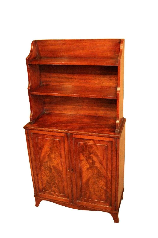 A Small Regency Waterfall Bookcase